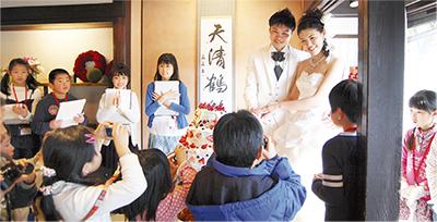 子どもが手づくり結婚式