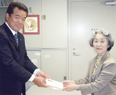 東戸塚LC社協に寄付