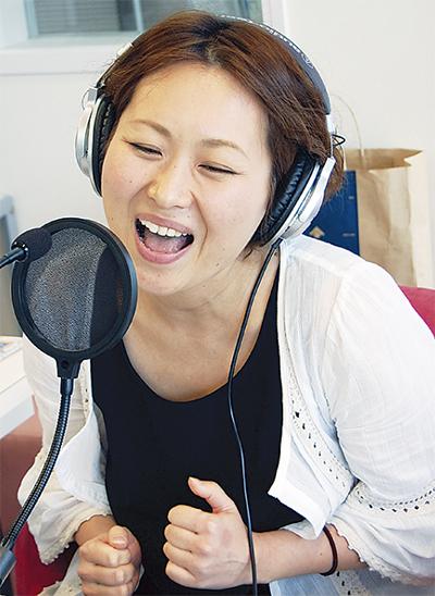 FM戸塚でママ歌熱唱