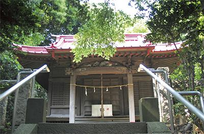 全焼の品濃白旗神社  再建へ