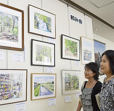 戸塚の風景画展
