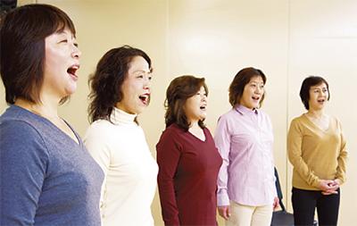 歌って健康に