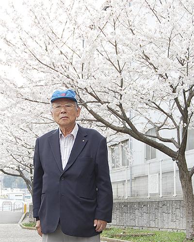 """""""舞岡愛""""が咲かせた桜"""