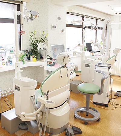 地域に貢献する歯科医でありたい