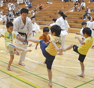 7つの武道を体験