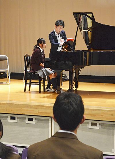ピアニストが指導