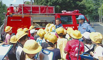 消防団が地域で講習
