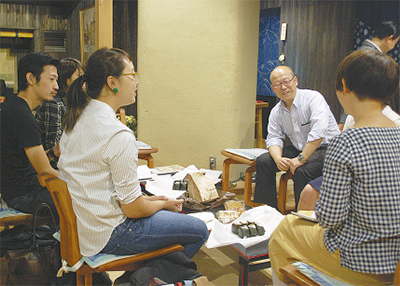 学生が寺から情報発信