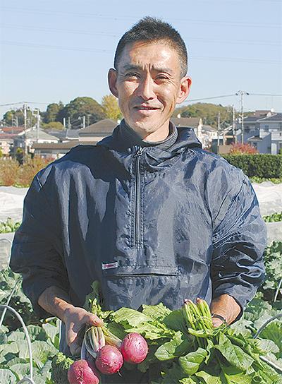 無農薬野菜を食卓へ