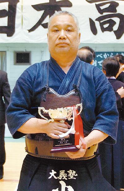 剣道で全国頂点に