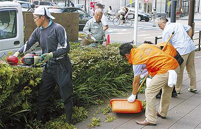 清掃で地域に貢献