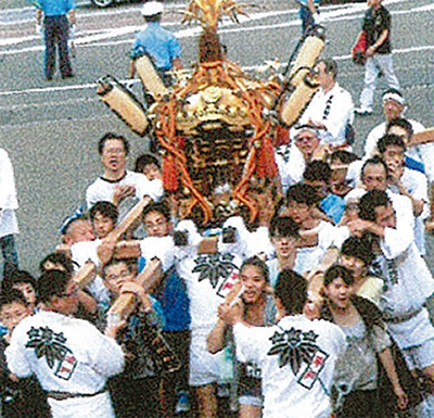 平戸白旗神社で例大祭