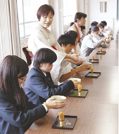 「おもてなし」茶道で学ぶ