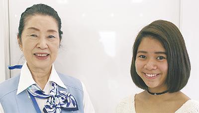 留学で英語学び、母を支援