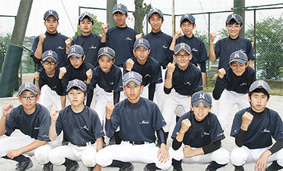 町田市団地野球連盟小学部home page