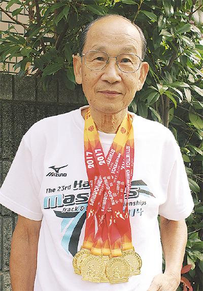 陸上アジア大会で5冠