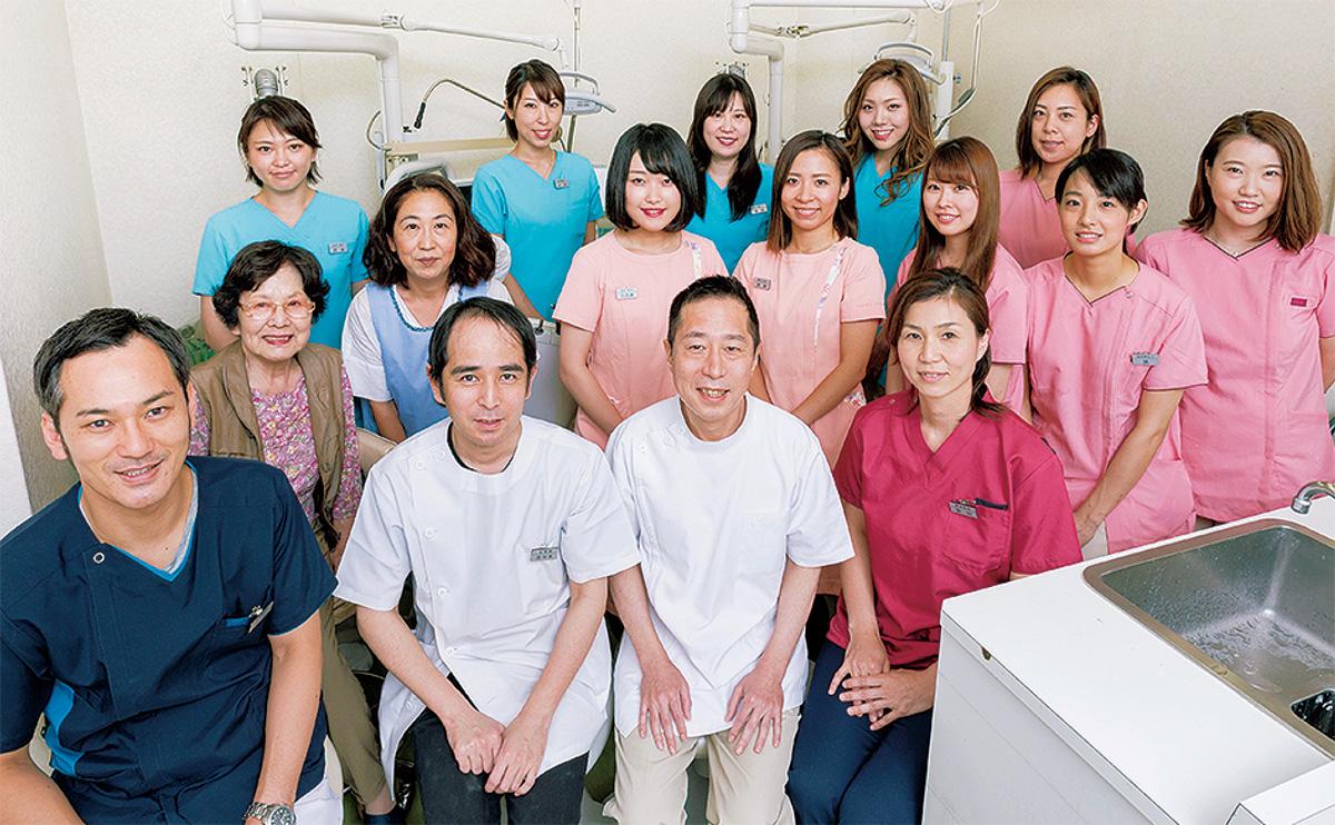 インフル予防に歯垢を除去