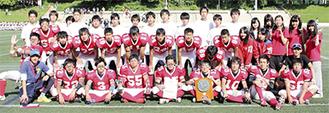 横浜栄高校のメンバーたち