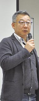 軽妙トークの吉田氏