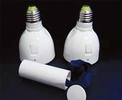 災害用LED先行発売