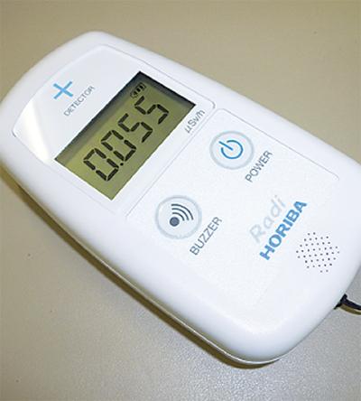 放射線量測定器を貸出
