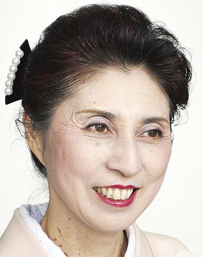 東 光菊さん(本名・酒井伸江)
