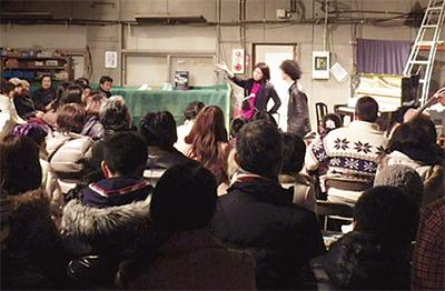 倉庫から芸術文化を発信