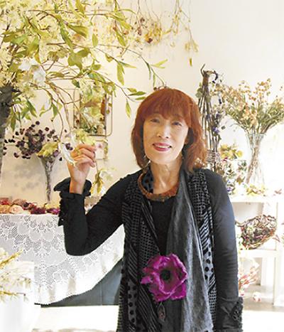 布花作品を世界へ