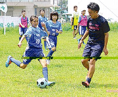 「サッカー好き女子集まれ」