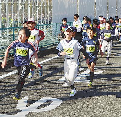 新春恒例ロードレース