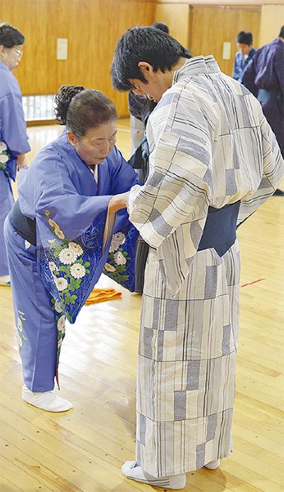 日本の衣文化を体験