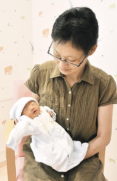 再開第一号の赤ちゃん誕生
