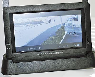 4台目の防犯カメラ設置
