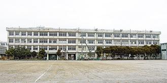 取り壊し間近の立野高校