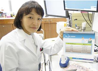 タバコの危険性を訴える岡村医師