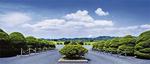 豊かな自然環境で定評の「鎌倉霊園」。敷地は約55万平方メートルと広大。