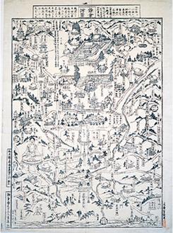 江戸後期の「鎌倉絵図」