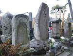 4つの墓石からなる「筆子塚」