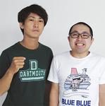「横浜ならではのネタも考えたい」と意気込む上仲さん(左)と新村さん(共に30歳)