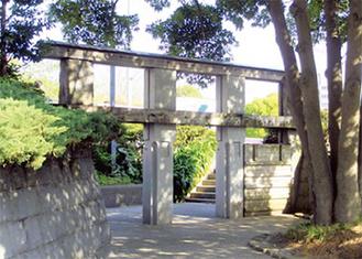 姫小島の水門