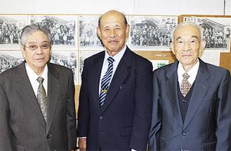 (右から)萩原さん、長野さん、安田さん