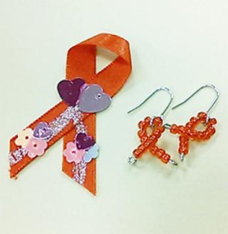 レッドリボンはエイズ運動のシンボル