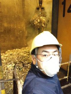 ゴミ処理の現場から(金沢工場)