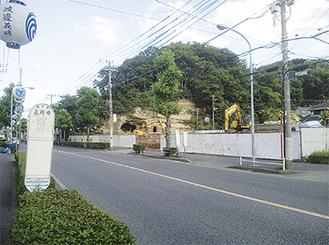 田中医院のあった場所