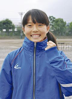 「ベストを出せるよう頑張りたい」と小川さん
