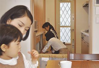 家事代行でゆとりの時間を(写真はイメージ)