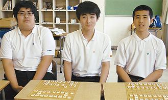 左から千野さん、銭本さん、新屋敷さん