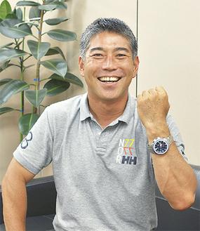 「神奈川県を代表して頑張ります」