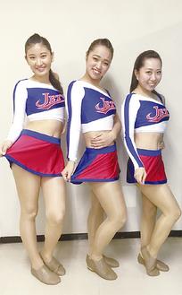 塩澤さん、早川さん、新山さん(左から)