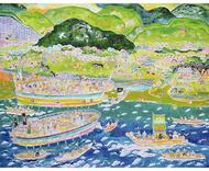 金沢の歴史絵巻を展示